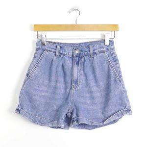 AEO High rise baggy light wash summer festival xs